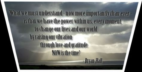 NOW is the time! quote by Bryan Hall
