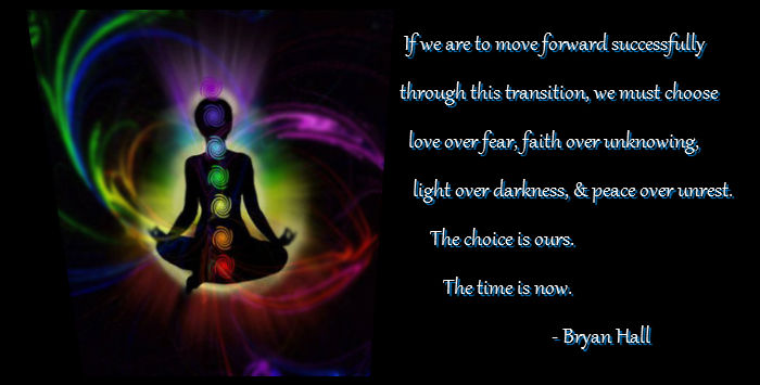 transformation - the choice - Bryan Hall quote