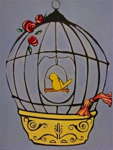 An Angelic Message via Bella Capozzi: Outside The Gilded Cage