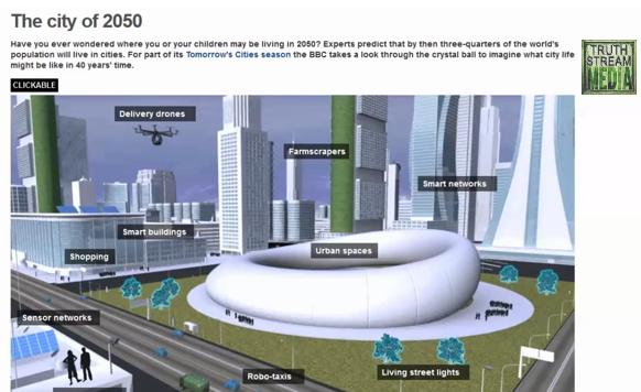 Agenda 21 Smart Cities: Orwell's Dystopic Nightmare Comes True