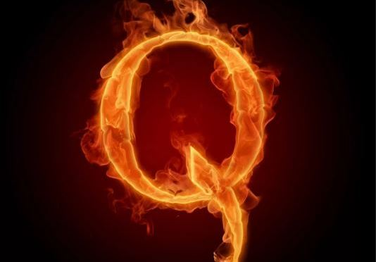 Q sent us. We want our fucking country back!